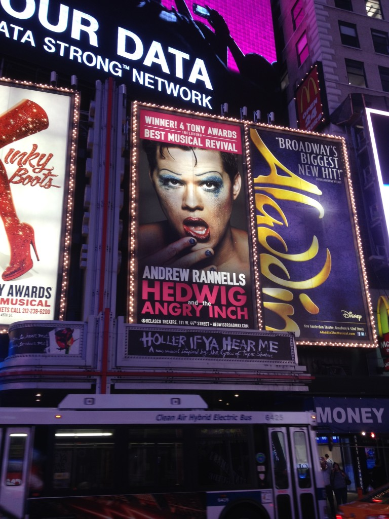 Hedwig--Wish I'd had time to see it!