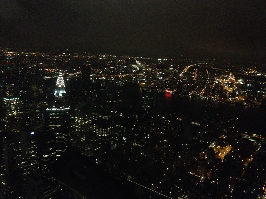 Chrysler Building from the Empire State Building