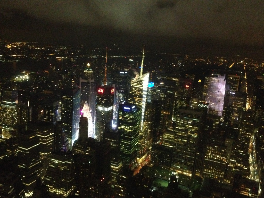 Times Square from the Empire State Building